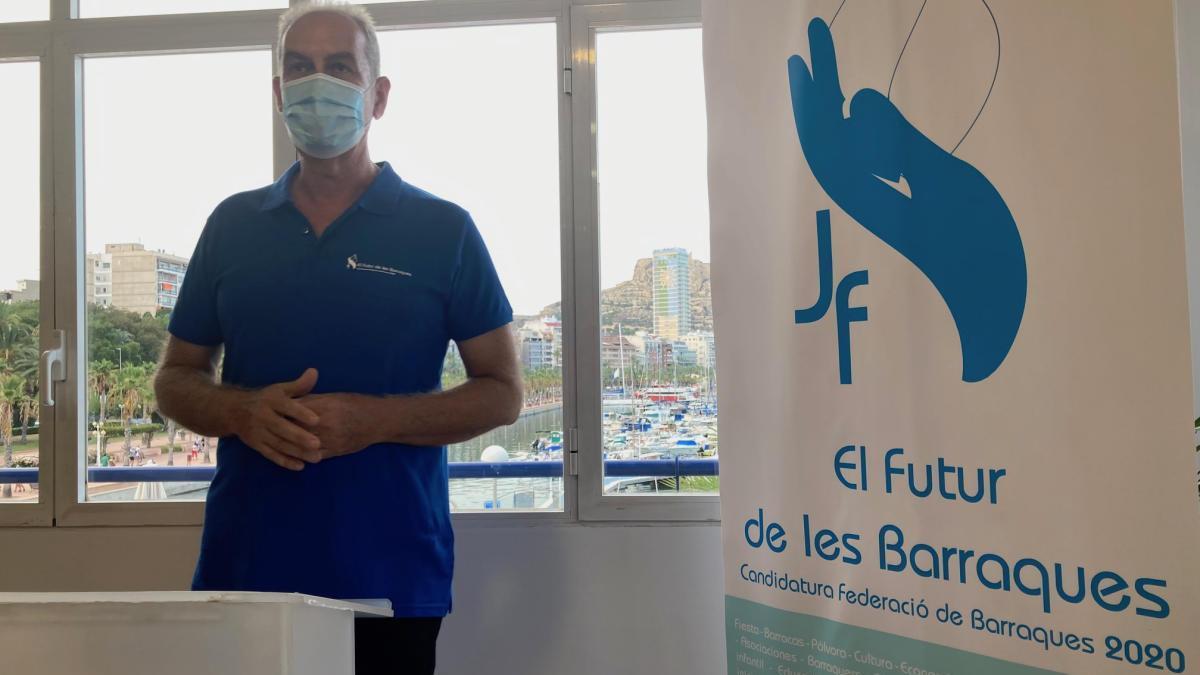 El candidato a presidir la Federación de Barracas de Alicante