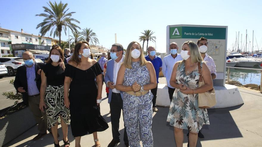 La Junta destinará 624.778€ para la nueva lonja del puerto de Caleta de Vélez