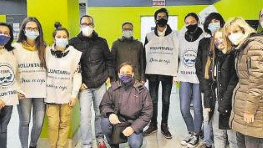 El Colegio La Salle Gran Vía de Zaragoza se vuelca con el Banco de Alimentos