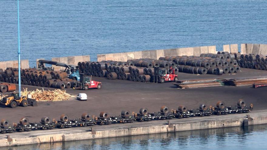 Marítima del Principado solicita una concesión por 15 años en El Musel para importar siderúrgicos