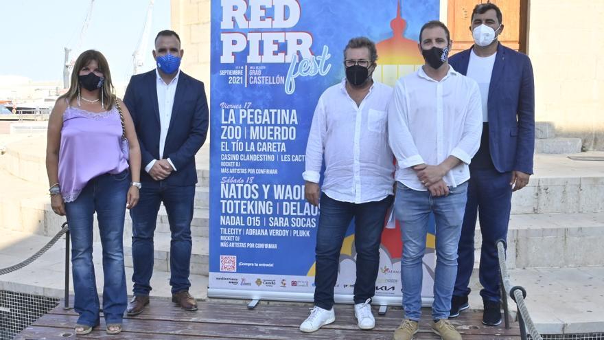 La V edición del Red Pier Fest de Castelló espera ser el primer festival sin distancia social