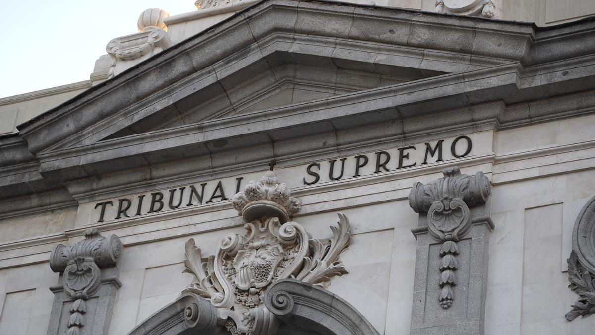 Imagen de archivo del Tribunal Supremo.
