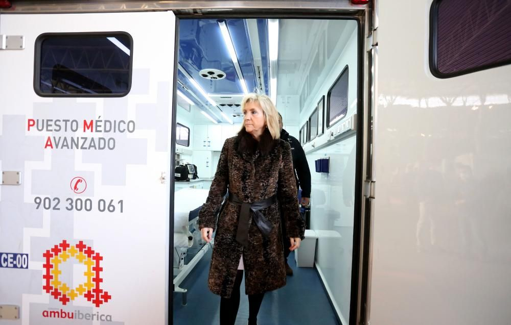 Casado, en el hospital de campaña del COVID-19