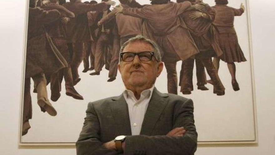 Fallece el pintor Juan Genovés, autor de 'El Abrazo', un símbolo de la Transición