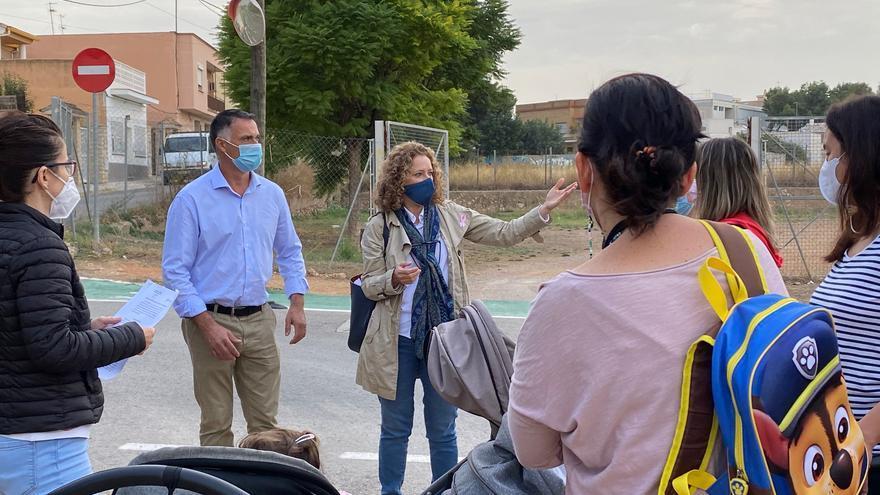 Vecinos de Parc Central reclaman un vial seguro a la Marxadella