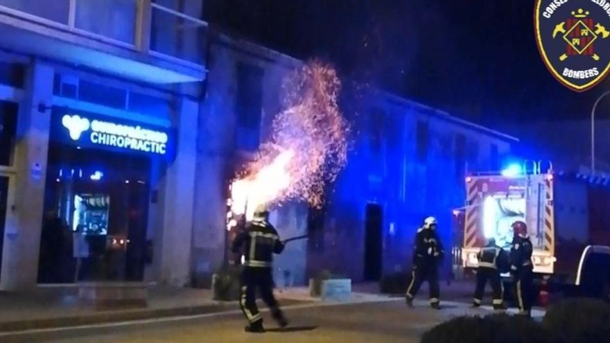 Fünf Leichtverletzte bei einem Wohnungsbrand in Alcúdia