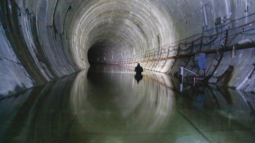 Mantener el túnel del metrotrén y el de Langreo cuesta 280.000 euros al año