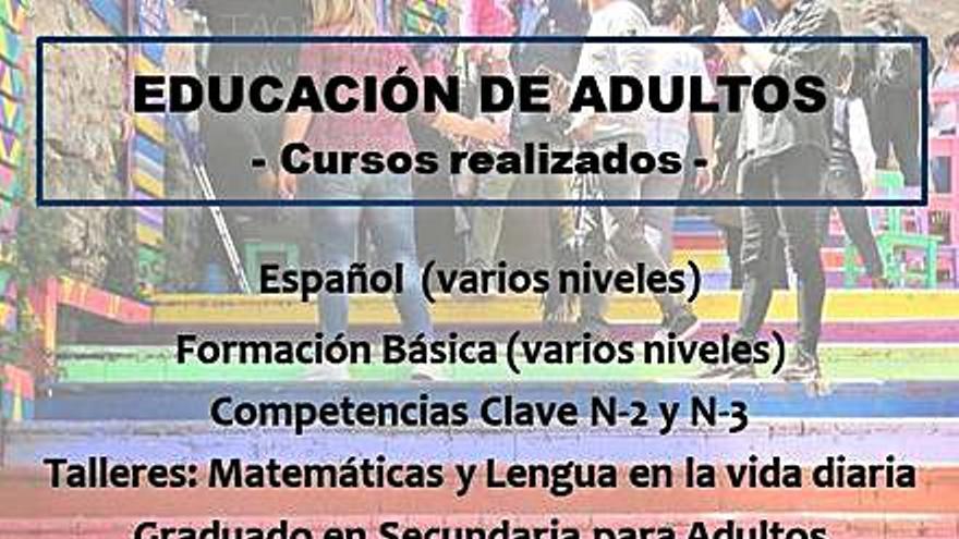 La educación de adultos se consolida como opción segura de formación