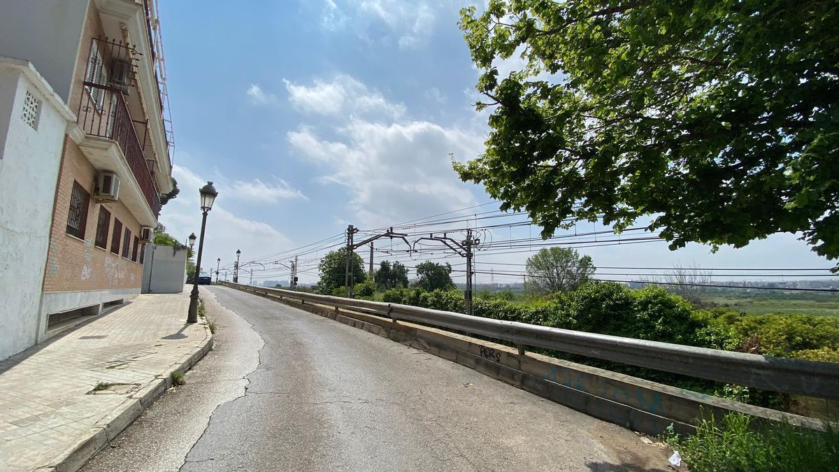 Zona por donde discurrirá la Ronda Sur de Paterna