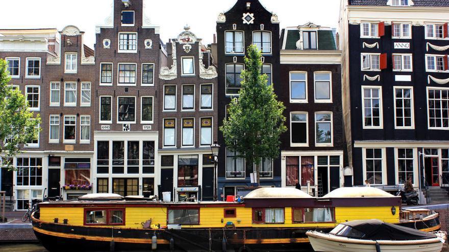 Ámsterdam: en la tela de araña de los canales