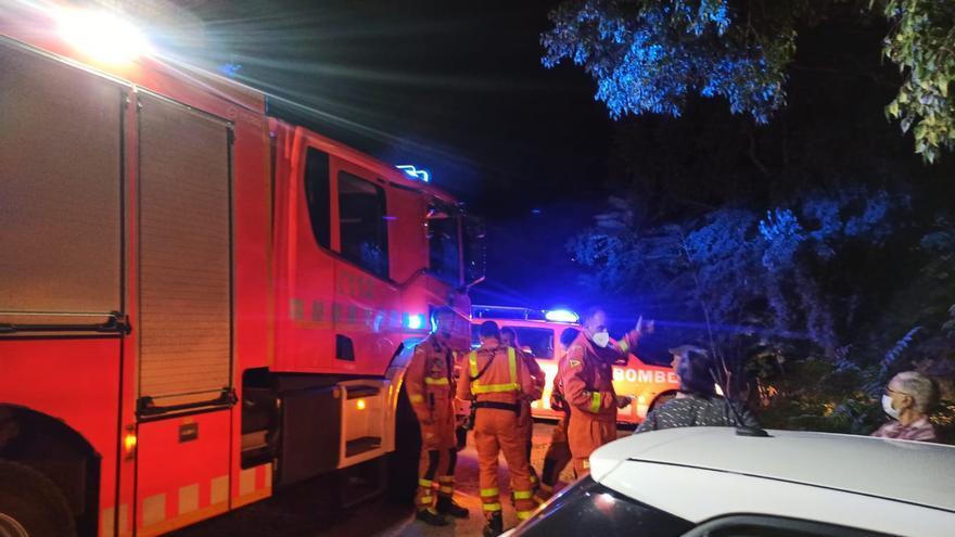 Rescatan a dos niñas en Bixquert que se perdieron al  caer la noche