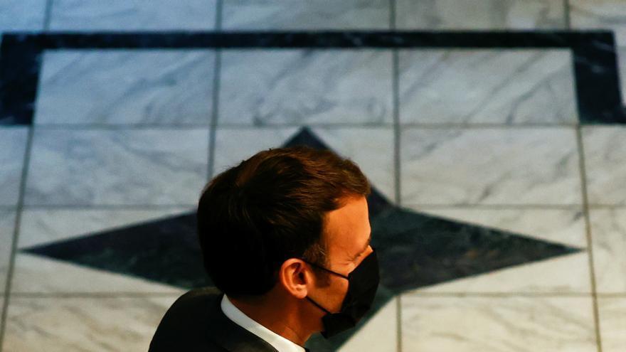 Macron, el primer presidente francés moderno que visita Lourdes