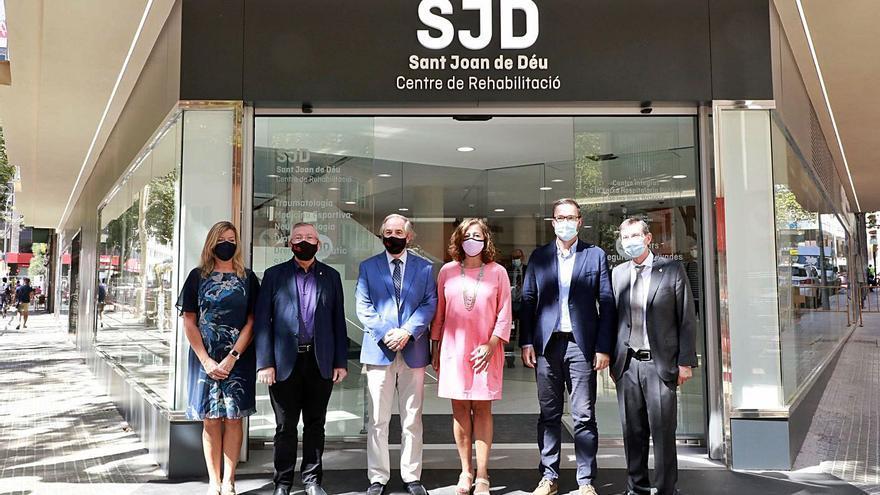 El mayor centro de rehabilitación ambulatoria de Baleares abre sus puertas