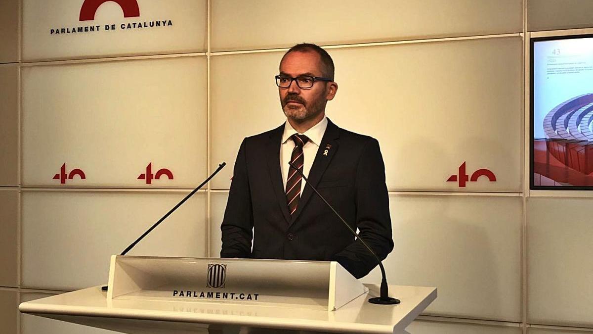El vicepresident primer del Parlament de Catalunya, Josep Costa, recentment