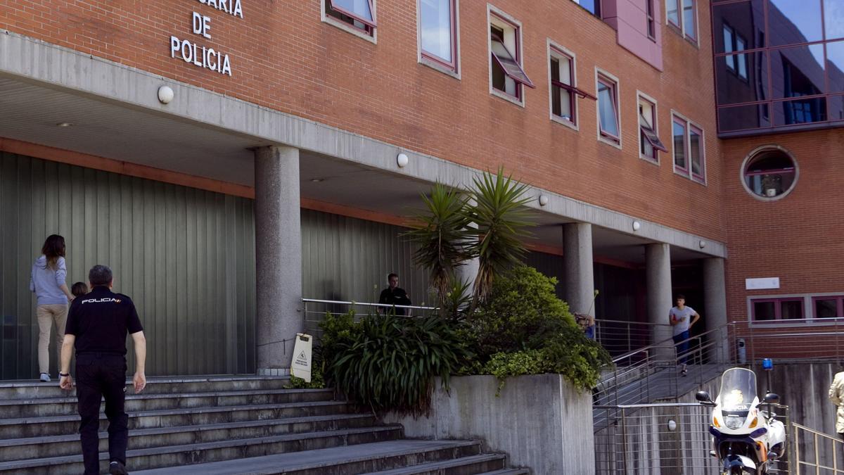 Imagen de archivo de la comisaría de la Policía Nacional de Gijón