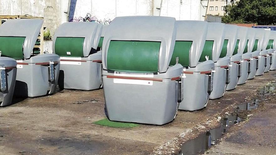 La zona rural tendrá contenedores especiales para la siega y la poda