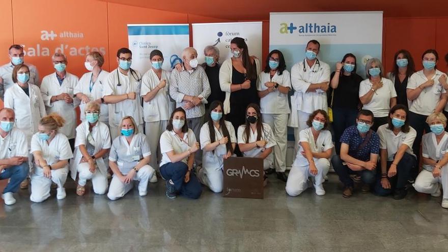 Polseres contra l'oblit i en agraïment a la lluita contra el coronavirus