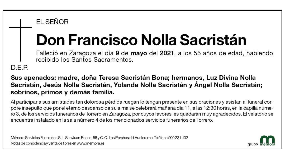 Francisco Nolla Sacristán
