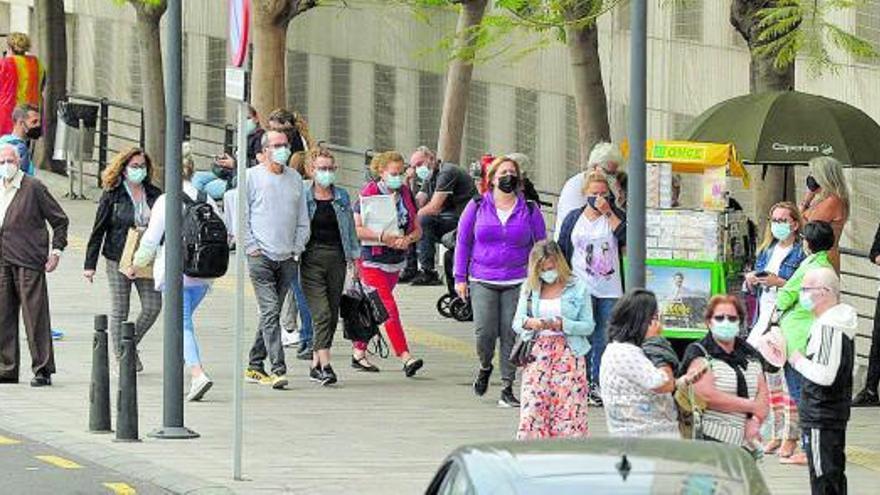 Canarias cierra la semana con 1.066  nuevos casos, 156 más que la anterior