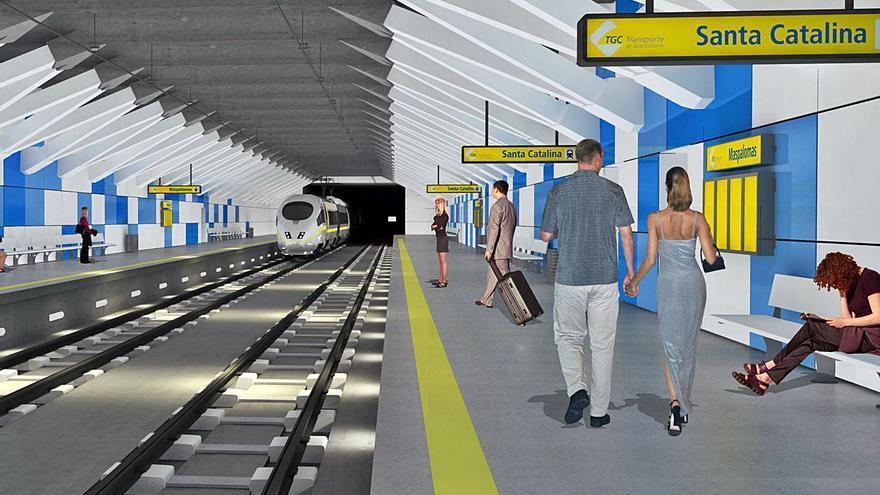 El Cabildo actualiza la demanda del tren con datos de la telefonía móvil