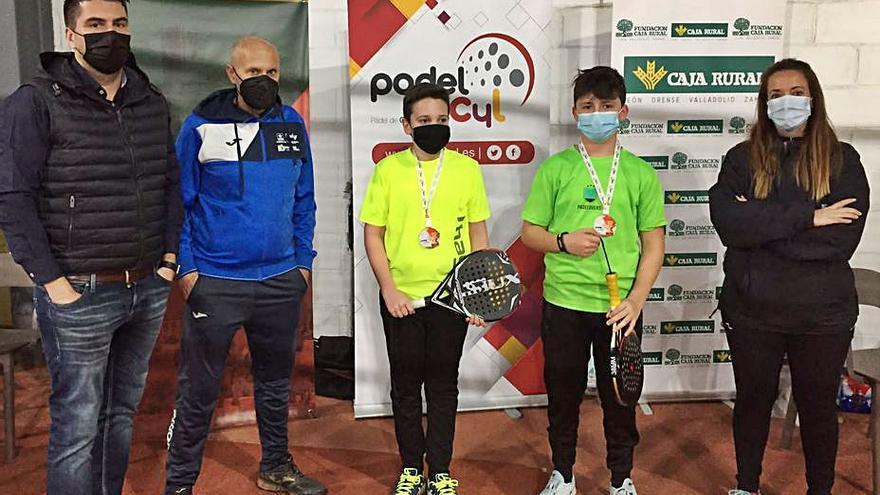 Inicio exitoso para el Campeonato Provincial de Menores de Pádel en Zamora