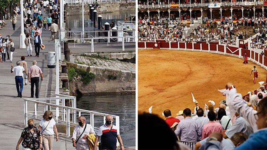 Casetas y toros: así cambiará este año la Semana Grande de Gijón