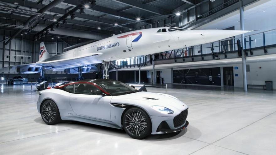 Aston Martin DBS Superleggera Concorde Edition: un homenaje a la aviación