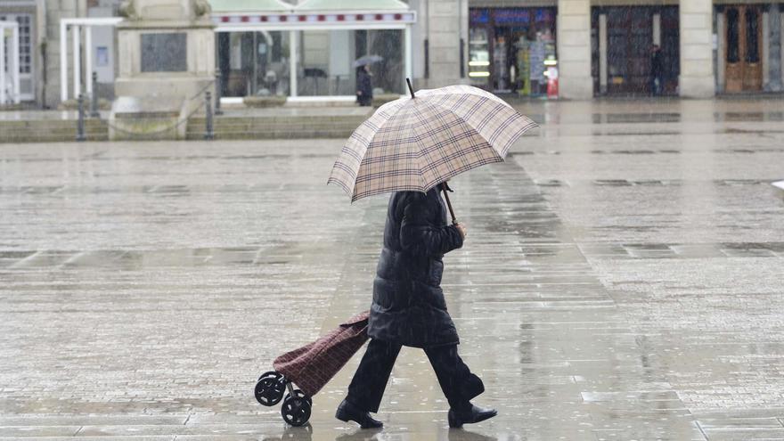 Chubascos y ligero ascenso térmico para este martes en Galicia