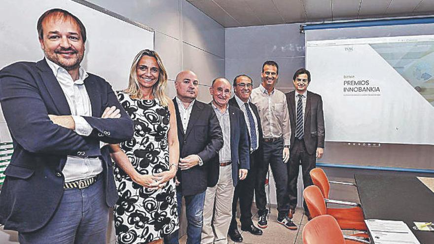 El jurado de los Premios Innobankia valora las empresas