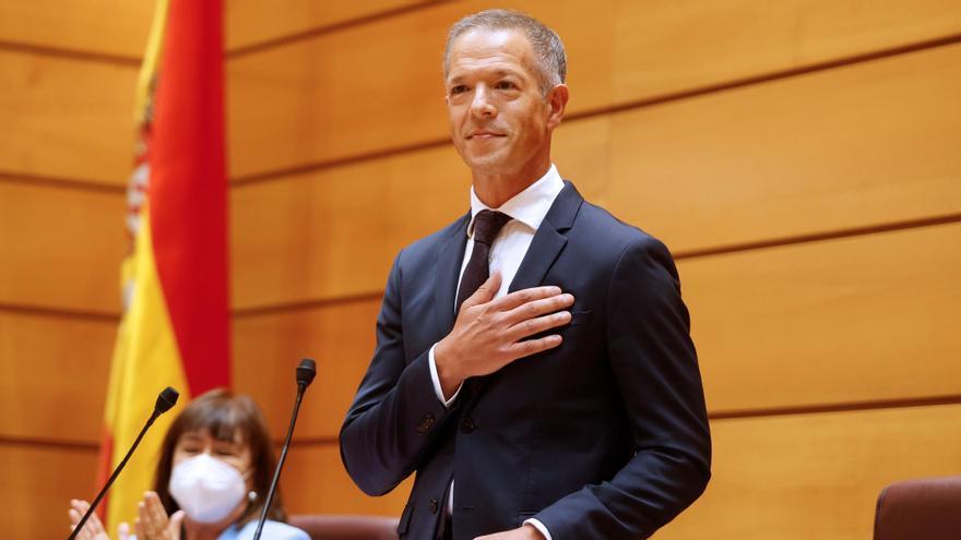 Ander Gil realiza un alegato contra los discursos de odio en su estreno al frente del Senado