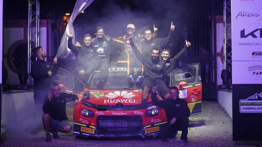 Jan Solans vence con autoridad en el Rally Ciudad de Pozoblanco