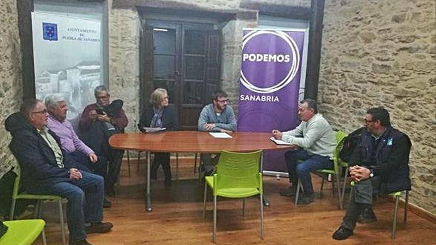 Integrantes de Podemos Sanabria.