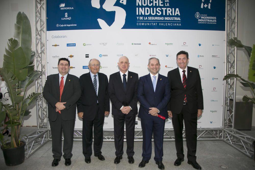 Noche de la Industria organizada por el Colegio de Ingenieros Industriales de la Comunitat Valenciana