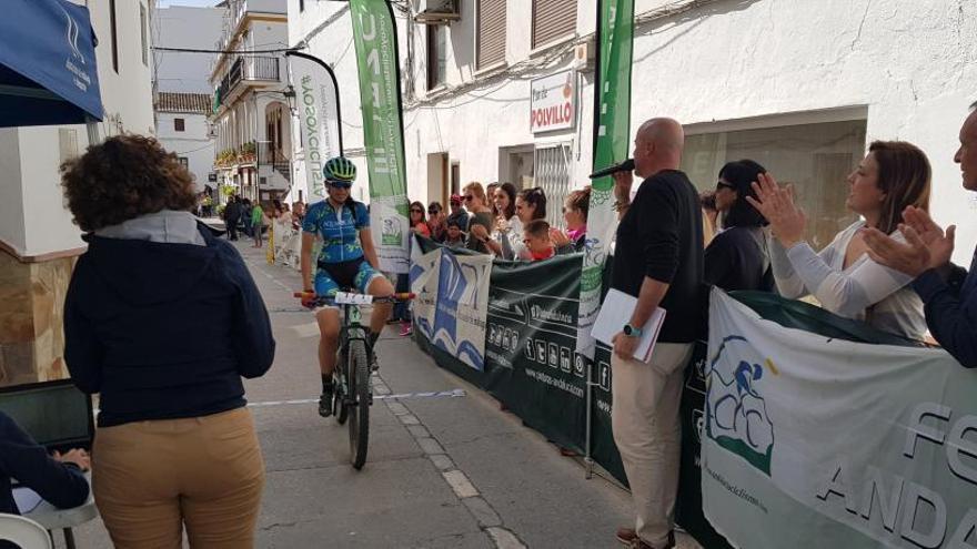 Paqui Jiménez se lleva la victoria en la XIX Prueba BTT Casarabonela