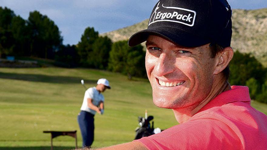 Über den Golfplatz auf Mallorca zu Olympia