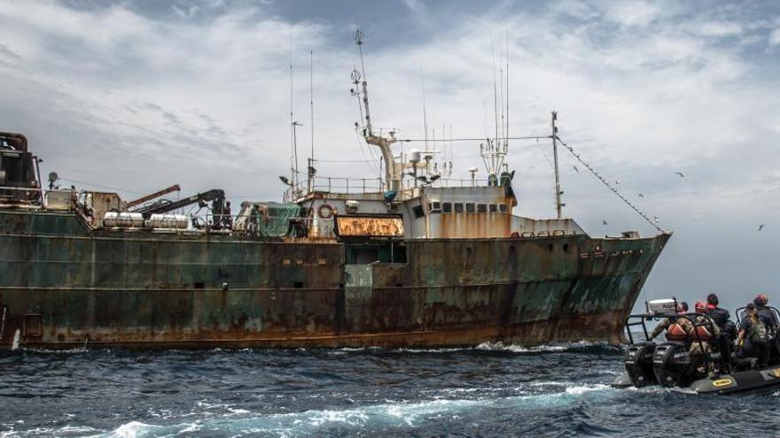 Apresan un barco en Liberia por pesca ilegal relacionado con Vidal Armadores