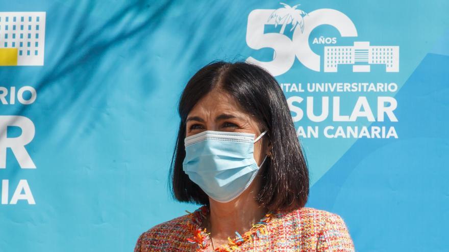 """Darias: """"La manera de vencer al coronavirus es vacunar, vacunar y vacunar"""""""