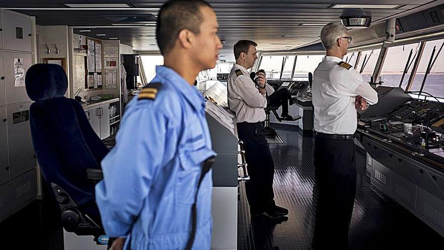 Las profesiones a bordo de los buques, las más difíciles para los servicios públicos de Empleo