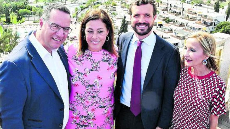 La ausencia de líderes del PP canario abre dudas en Génova sobre la renovación