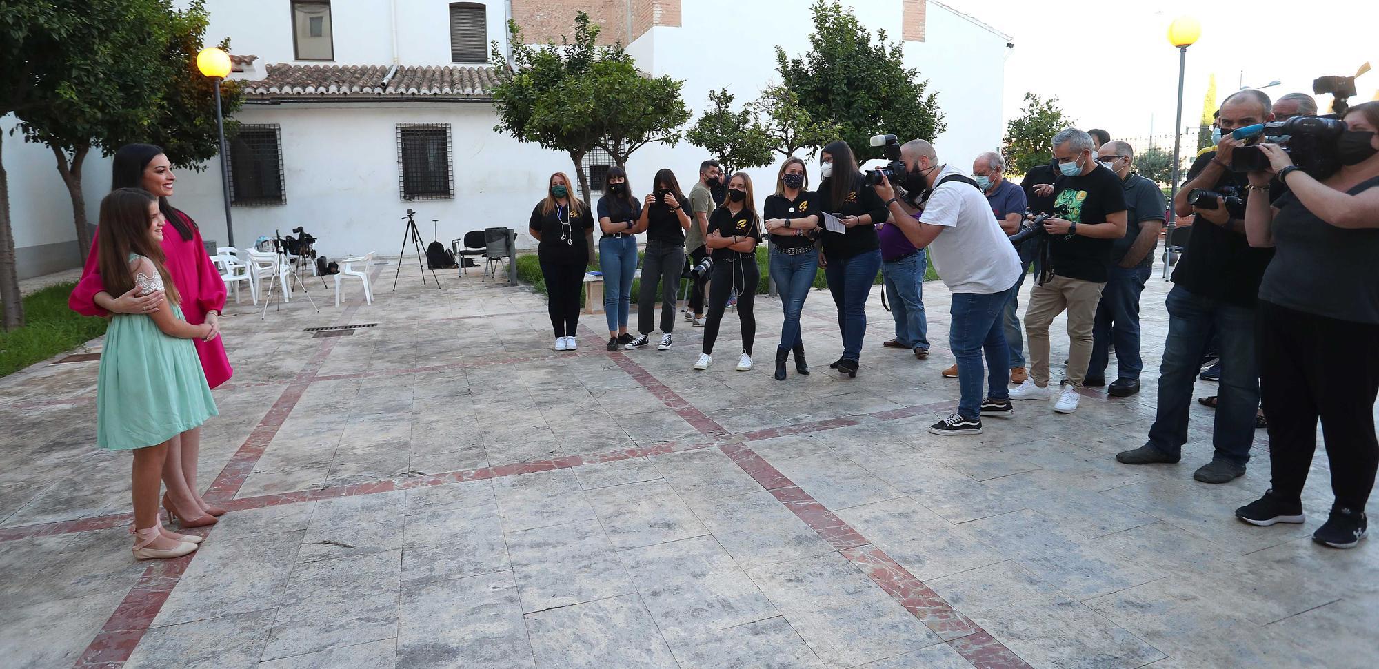 La primera sesión de fotos de las aspirantes a Fallera mayor de València