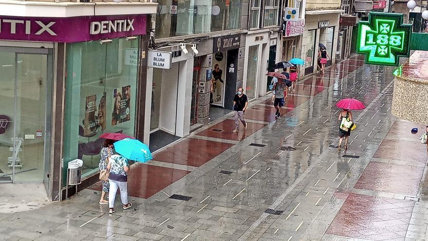 Tiempo en Elche: lluvia y 23 grados a seis días de agosto