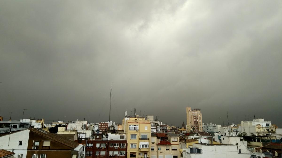 La lluvia continuará en el interior de la provincia de Castellón
