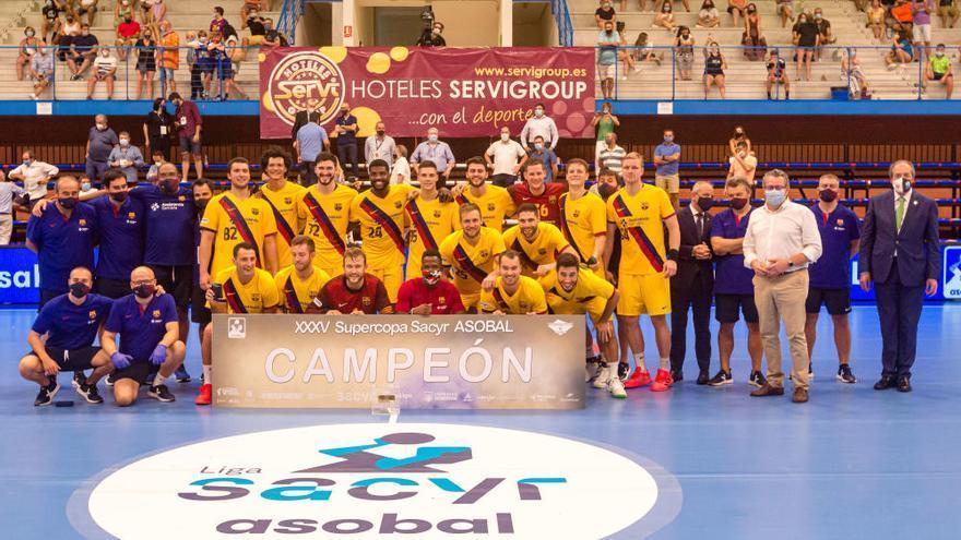 El Barça arrolla al Benidorm en la Supercopa (18-38)