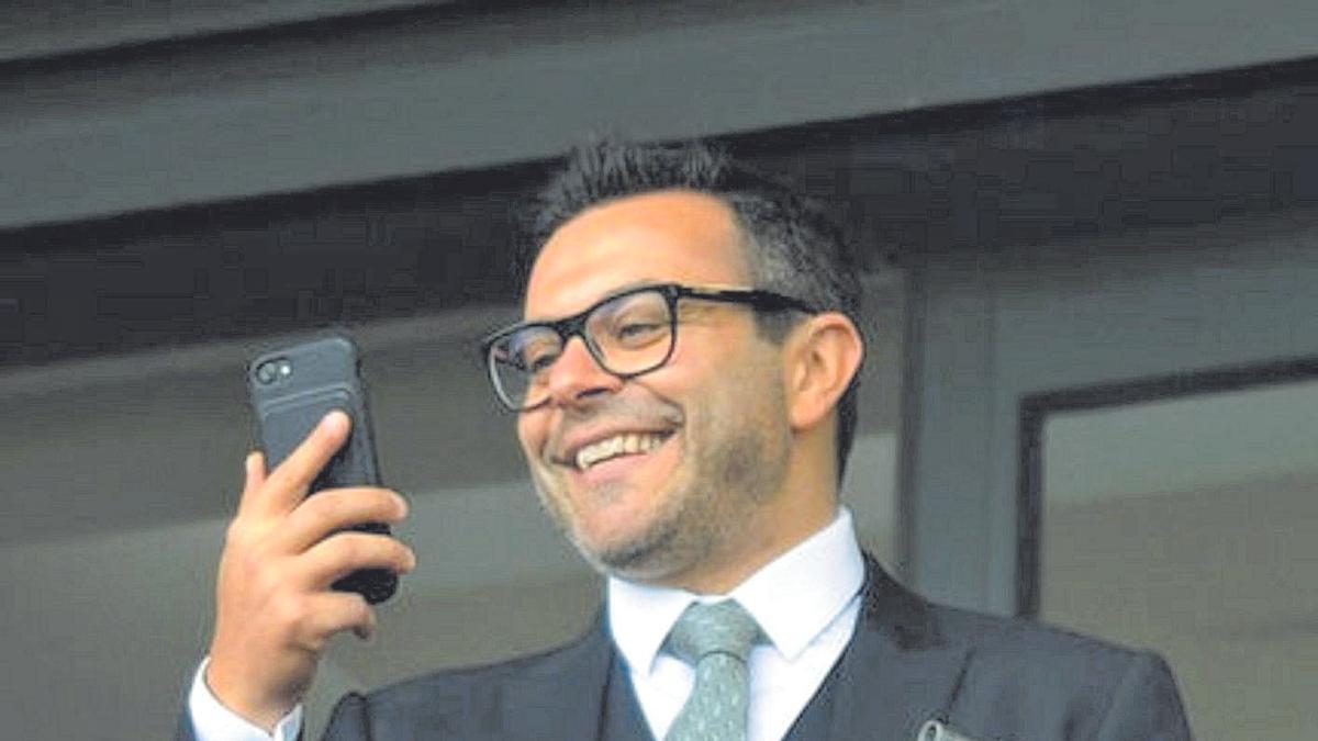 Andrea Radrizzani, máximo accionista del Leeds United.