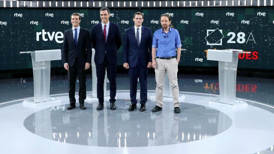 La Academia de Televisión anuncia que el debate a cinco será el 4 de noviembre