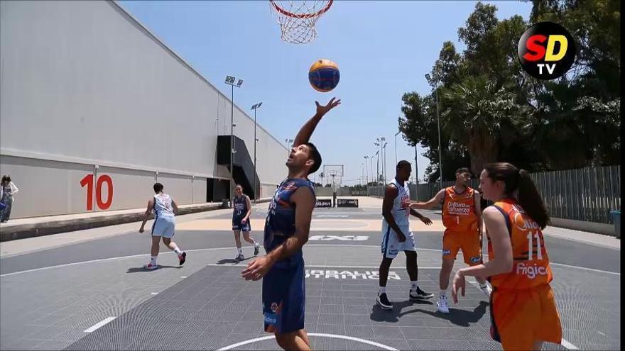 Así se juega al baloncesto en el 3x3 olímpico