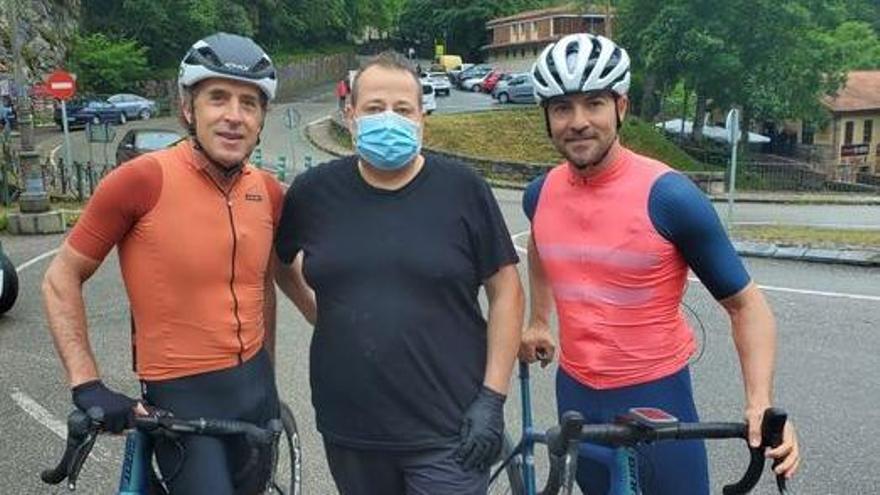 VÍDEO: David Bisbal recuerda en Asturias su pasado ciclista