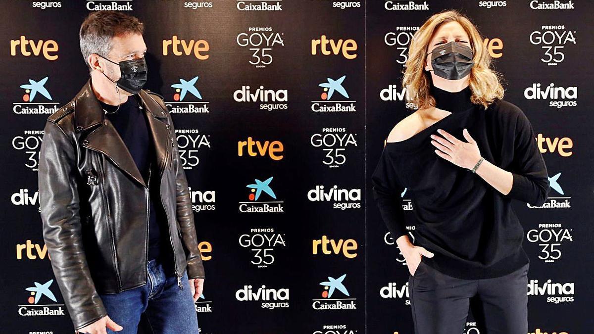 Antonio Banderas y María Casado presentarán la gala. // EPC