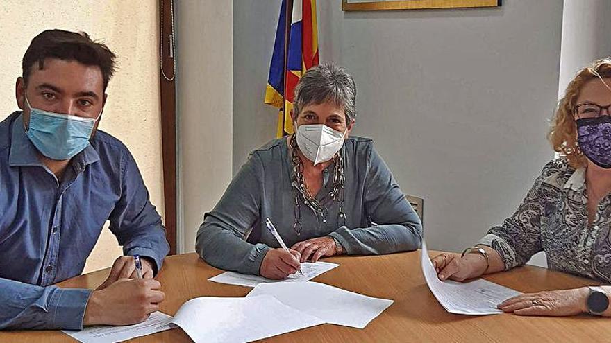 L'Ajuntament de Sallent dona suport a les tasques de Càritas Interparroquial del municipi