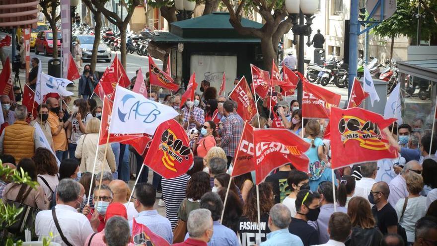 La huelga cierra la mayoría de oficinas de BBVA en Alicante